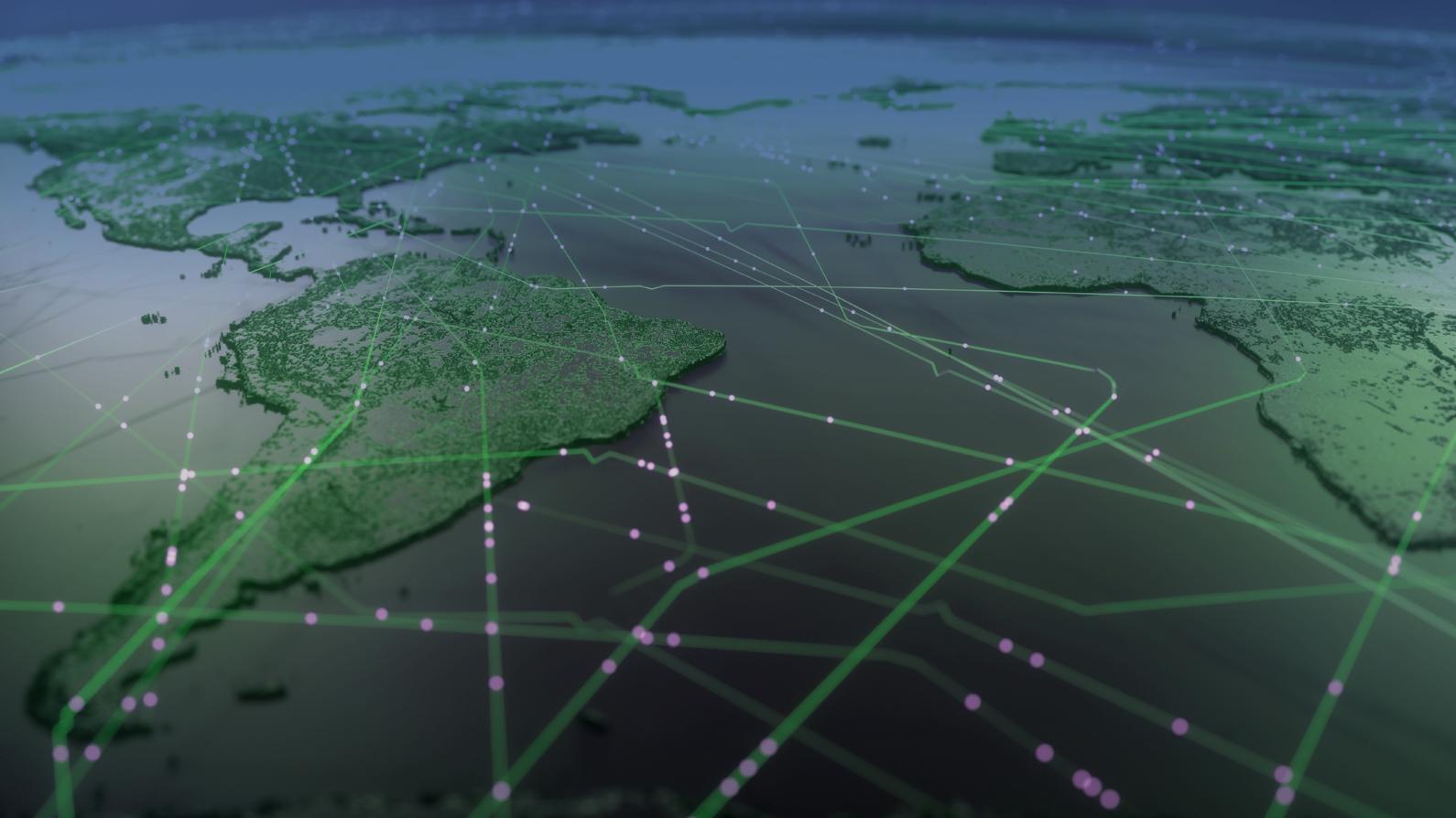 réseau mondial de stockage de données