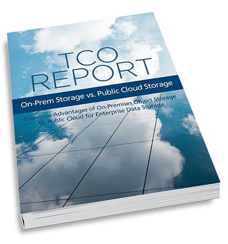 object storage vs public cloud tco report