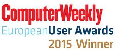 computer weekly european user awards