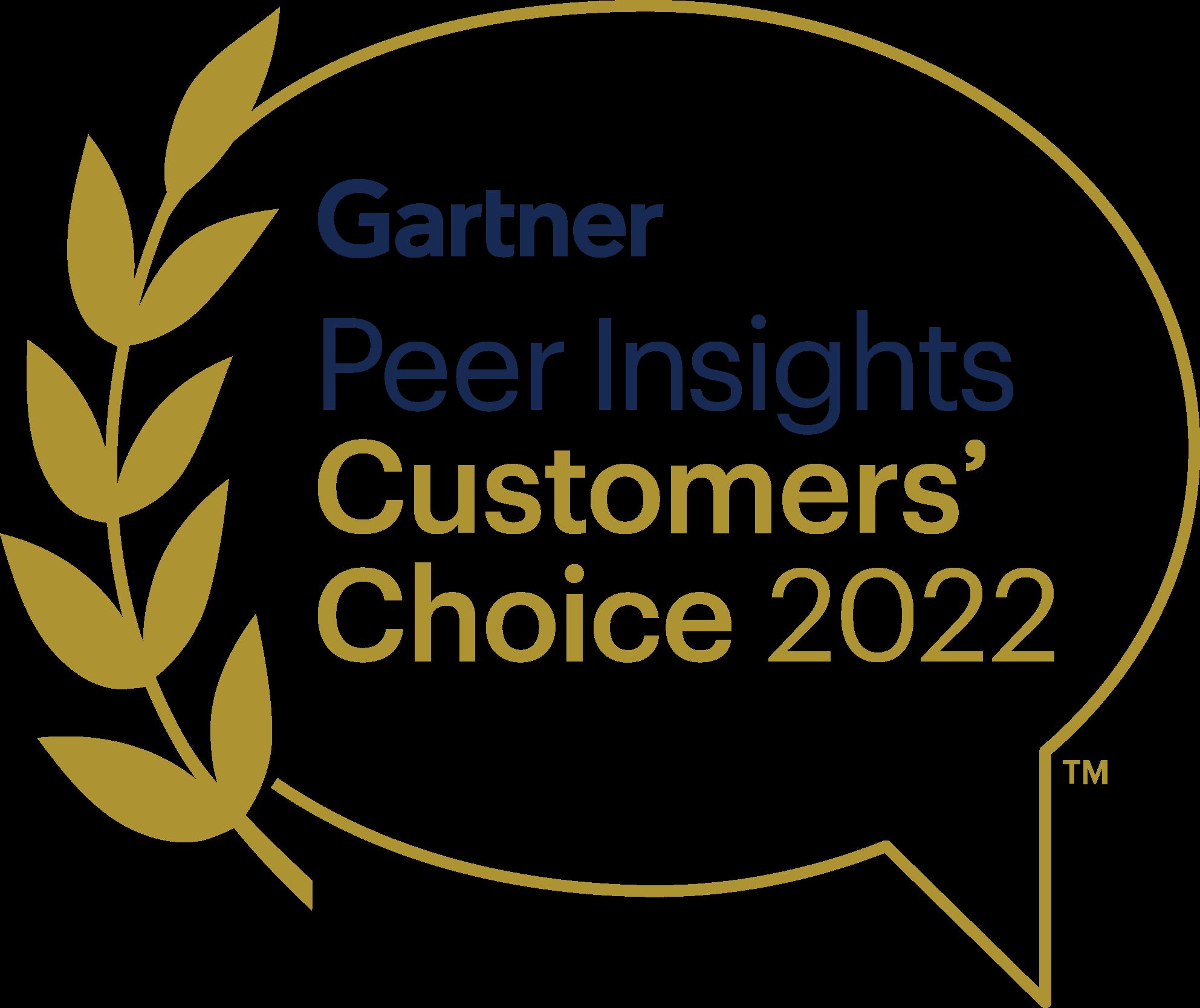 gartner customers choice