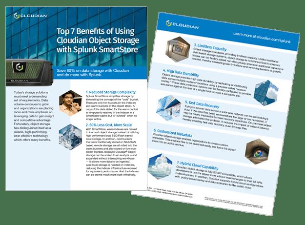 cloudian splunk data sheet
