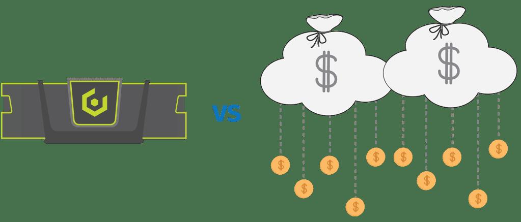 on-prem vs public cloud